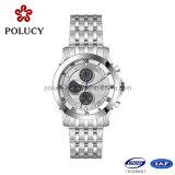 316L Stainless Steel Quartz Chronograph Watch for Men