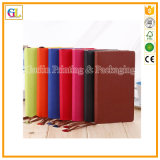High Quality PU Leather Business Notebook Printing