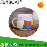 Enamel Milk/Coffee Mug with Handle