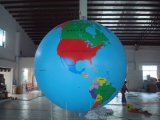 Advertising Inflatable Big Earth Planet Balloon for Sale