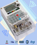 Two Way Communication Single Phase Watt Hour Meter Polycarbonate Build - in GPRS