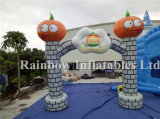 0.55 PVC Inflatable Pumpkin Arch for Helloween Celebration