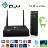 Hot Selling Kii S812 Dual WiFi +Bluetooth Android TV Box