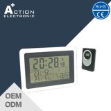 Weather Station Digital Radio Controlled Alarm Clock with Outdoor Sensor