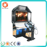 Coin Pusher Type Amusement Park Arcade Video Game Shooting Game Machine