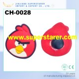 Vivid Animal Shoes Charm, Rubber Cartoon Birds Charms for Clogs