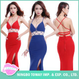 Red Sexy Discount Summer Women′s Maxi Dresses for Weddings
