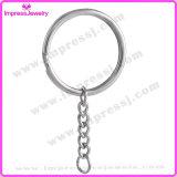 Simple Free Loop Key Ring Round Split Key Chain 20 PCS/Lot Cheap Bulk Price Key Ring (IJK2019)