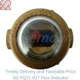 Brass Ball Sight Glass Water Flow Indicator