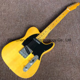 DIY Tl Guitar Kits / Tele Electric Guitar in Yellow (GF-55)