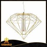 Hotel Metal Diamond Modern LED Pendant Lighting (MD21380-1A-600)