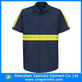 Wholesale Shirt Collar Summer Short Sleeve Fr Work Button Shirt