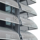 Perforated Aluminum Metal Facade Cladding