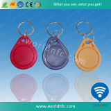 T5577 ABS RFID Keyfob with Metal Ring for Access Control