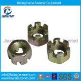 Zinc Plated 4.8grade Hex Slot Nut Castel Nut Kee Nut