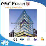Factory Cheap Curtain Wall Price/Visible Aluminum Frame Glass Curtain Wall/Glass Curtain Wall Price