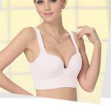Gym Yoga Nylon Fabric Sport Womens Fitness Wire Free Bra
