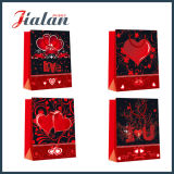 Valentine Holiday Design Cheap Wholesales Customize 4c Printed Paper Bag