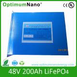48V 200ah LiFePO4 Battery Pack for Solar Power System