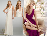 The New Bride Bridesmaid Dress, Sisters, Prom, Evening Dress