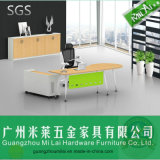 Modern Executive Table Desk Office & Home Furniture with Side Cabinet
