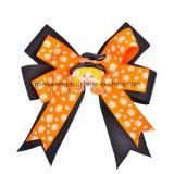 Hair Clips Girls Halloween Ribbon Hair Bows