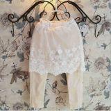2015 Newest Autumn Elegant Delicate Lace Skirt Pants