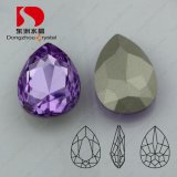 Pujiang Fashion Color Point Back Crystal Fancy Stone for Jewelry
