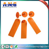UHF RFID Ear Tags / Radio Frequency Identification ISO RFID Tags for Animals