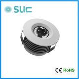 Wholesale 3W Aluminum Alloy LED Cabinet Light LED Puck Light (SLCG-F004)