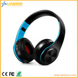 Folding Bluetooth Stereo Wireless Headphone with Super Sound Support Micro SD TF Card