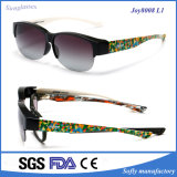 Designerglasses Polarized Fashion Sunglasses Eyeglass with Fit Over Glasses
