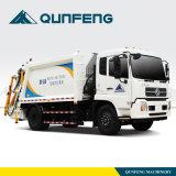 Back Loading Garbage Compression Truck
