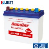 Dry Charged Battery Storage Car Battery Auto Battery Ns60
