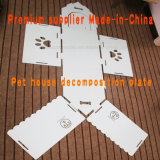 Green Diatomite Pet House for Dog or Cat
