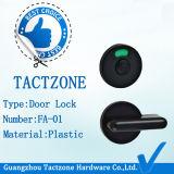 Tactzone toilet door lock & door handle