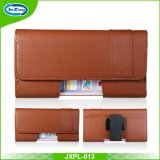 for Various Phones Black Business Wallet Case Leather Belt Clip Pouch Cover
