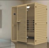 Solid Wood Sauna Room with Customized Size (AT-8624)