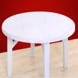 Best Price PP Material Outdoor Garden Beach Plastic Round Table