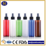150ml Colored Plastic Cosmetic Bottles with Pump Sprayer