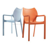 Hot Sale Designed Plastic Arm Chair for Dining Used (SP-UC470)