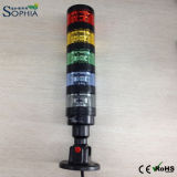 IP65 Outdoor Use Warning Light Maximum Five Colors with Rotating Base