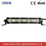 Super Slim 3W CREE Each LED Light Bar Single Row