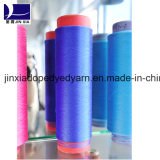 Polyester Filament Yarn DTY 75D/24f DTY Dope Dyed