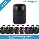Good Quality Plastic PA LED Karaoke Projection Soundbox