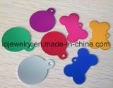 Animel Jewelry Uluminium Colorful Dog Tags for Pets