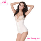 Special U-Back White Hook Eyes Waist Training Corsets for Ladies
