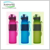 Portable Silicone Kettle Sports Plastic Water Bottle