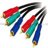 Component Lead 3 RCA Plugs - 3 RCA Plugs Cable
