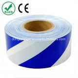 Blue White Non Adhesive Warnig Tape